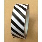 Love My Tapes Washi Tape 15Mmx10m-Black Candy Stripe