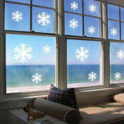 Wall Stickers, KEERADS Frozen Snow Wall Decals Adhesive Wall Stickers Mural Art Home Window Decor