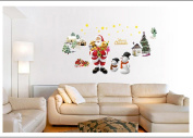 Wall Stickers, KEERADS Christmas Wall Decals Adhesive Wall Stickers Mural Art Home Window Decor