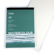 A3 Pad for Watercolours and all Wet Media - 15 Sheets - 350gsm - Neutral Ph