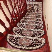 Domestic staircase carpet mat anti-skid,75×24cm h