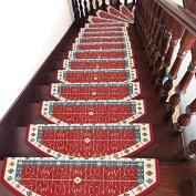 Stair carpet mat, free glue, self suction,(d 75×24cm
