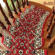 High density thickening stair non-slip carpet mat,(d 90x24cm
