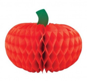Creative Converting Halloween Paper Tissue Honeycomb Pumpkin Centrepiece