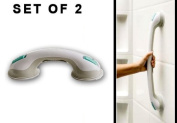 Safe-er- Grip Bath & shower Handles Combo set, 43cm and 29cm