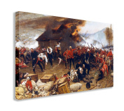 ROYAL ENGINEERS THE DEFENCE OF RORKES DRIFT BATTLE 1880 RORKES WALL ART CANVAS