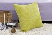 Kingwin Corduroy Square Pillow Cover Sofa Decorative Cushion Case