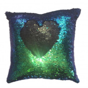 40cm*40cm Pillow Case, HUHU833 Two-sided Double Colour Glitter Sequins Home Decor Cushion