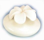 Millefiori Milano Large Flower Diffuser, Ceramic, White, 16.1 x 15.9 x 13.2 cm