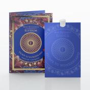 Max Benjamin Elysium Escape to Wonderland Scented Card, Paper, Blue, 6.5 x 10 x 0.2 cm