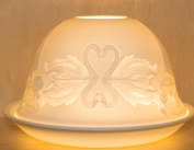 Nordic Lights Swan Candle Shade