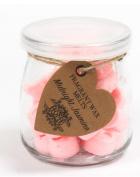 Fragrant Soy Wax Heart Melts Jar Midnight Jasmine