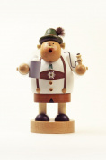 German Incense Smoker Bavarian with stein – 20 cm/8 Inches – Authentic German Erzgebirge Smokers – KWO