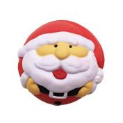 Kawaii4girl Santa Claus Squishy Slow Rising Jumbo Kawaii Squishies Christmas Gifts Red