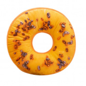 HUHU833 11 Styles Doughnut Donut Shaped Ring Plush Soft Novelty Style Cushion Pillow