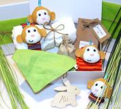 Cheeky Monkey gift hamper for new baby, baby gift box, baby hamper,