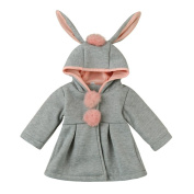 Baby Coat,Honestyi Baby Infant Girls Autumn Winter Fashion Thick Hooded Coat Cloak Jacket Thick Warm Clothes