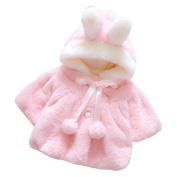 Baby Coat,Honestyi Baby Infant Girls Fur Winter Warm Coat Cloak Jacket Thick Warm Clothes