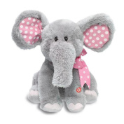 Sansee Animated Singing Elephant Baby Plush Toy Flappy Soft Animal Toy Kid Doll Gifts