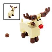LEGO Rudolph Reindeer Xmas Christmas Santa City