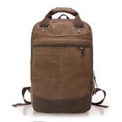BOAOGOS Men Backpack Canvas All Seasons Outdoor Professioanl Use Camping & Hiking Weekend Bag Zipper