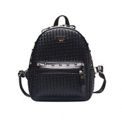 BOAOGOS Women Bags All Seasons PU Backpack Rivet for Casual