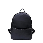 BOAOGOS Women Bags All Seasons Backpack Rivet for Event/Party Shopping Casual Sports Formal Outdoor Office & Career Black,Black
