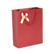 Sunwords Kraft Paper Ribbon Bowknot Treat Wedding Birthday Party Favour Present Gift Bag