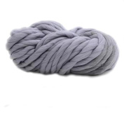 Oxforder Anti-pilling Thick Acrylic YThern Soft ScTherf Knitting Wool Hand-knitted Work Wool-Smoky Grey