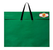 Star Products Classic Dura-Tote Portfolio 50cm by 70cm , Green with Reclosable Fastener