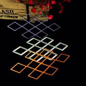 Kicode DIY Steel Rhombus Cutting Cutter Dies Knife Handmade Stencil Embossing Scrapbooking Album Decorative