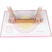 Merssavo Silicone Kneading Rolling Cut Mat Fondant Cake Clay Pastry Dough Tools Hot x 1