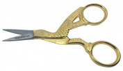 SCISSORS FOR EMBROIDERY, MANICURE, NAIL ART, CRAFT & SEWING 8.9cm STORK GS1 SANDBROS