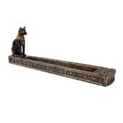 Egyptian Bastet Incense Holder Burner Figurine Made of Polyresin