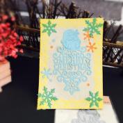 Wanshop® Christmas Halloween Paper Decor Cutting Dies Stencil Scrapbooking DIY Handcrafts Paper Card Gift