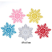 Wanshop New Christmas Snowflake Cut Metal Cutting Dies Stencils Template DIY Scrapbook Card Décor