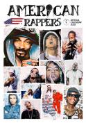 Imagicom imacal215 American Rapper Wall Calendar, Paper, White, 0.1 X 30.5 X 42.5 Cm