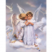 Pu Ran Cute Angel 5D DIY Diamond Embroidery Painting Cross Stitch Home Wall Hanging Decor