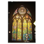Raybre Art Colour church Delicate cathedral painting on Canvas Wall Art Ready to Hang for Bedroom Home Decorations