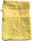 Wash Glove With Your Text or Name 21 x 16 cm/Colour Beige