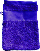 Wash Glove With Your Text or Name 21 x 16 cm/Colour Royal