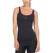 Gregster Women's Compression Top – Ladies Running Tank Top – Suitable for Fitness, Yoga and Running – Stretchy and Breathable
