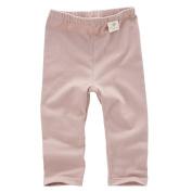 Babiesnature Pink/ White Leggings Pants Baby Organic Cotton 12 Months Indian Pink