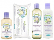 Earth Friendly Baby Lavender Bubble Bath, Shampoo & Body Wash, Wipes & Lotion