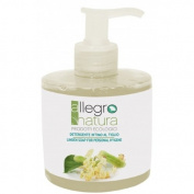 ALLEGRO NATURA - Linden Intimate Cleanser - With Essential Lavender Oil - Soothing & Moisturising- Suitable also for sensitive skin - Moisturises and Protects - Made in Italy, Natural & Vegan - 300 ml