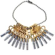 14pc Universal Tool Pocket Watch Complete Key Set Jewellery Repair Accessories
