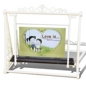 GZQ Picture Frame Chic Rustic Swing Photo Frame for Wedding Certificate Family Baby Landscape Pictures Decoration Christmas Gift