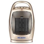 GAYY Mini Desktop Heater Heater Home Bathroom Small Solar Energy Radiator Energy-Saving Office New Year Gifts,Gold,29CM