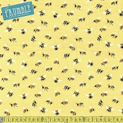 Studio E Save Our Bees Main Yellow Sewing Fabric