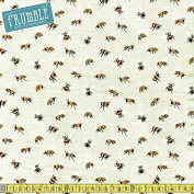 Studio E Save Our Bees Main Natural Sewing Fabric